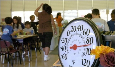 Hot weather and classrooms don't really mix – here's what to do.